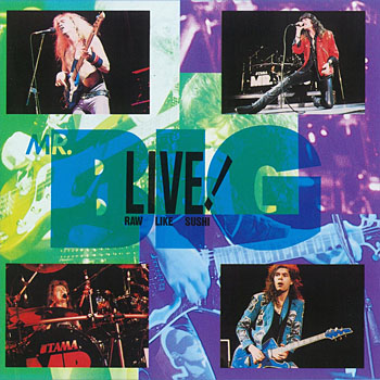 Mr.Big - Live! Raw Like Sushi